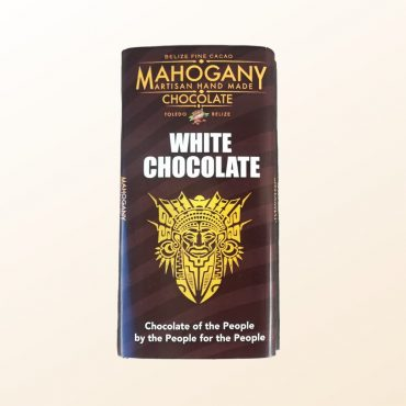 Mahogany Chocolate White Chocolate Bar